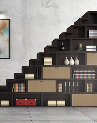 plywood for bookshelves