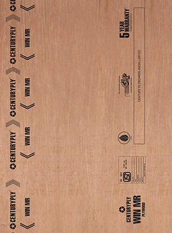High Quality MR Grade Plywood In India - CenturyPly