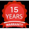 15 Year Warranty