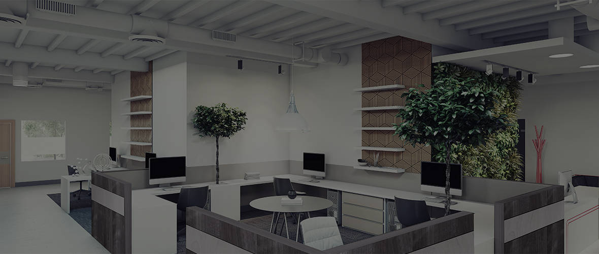 plywood design for office